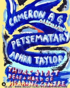 Aphra Taylor Divine Schism Cameron AG support 20191031 Poster